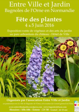 Fête des plantes Bagnoles sur l'Orne